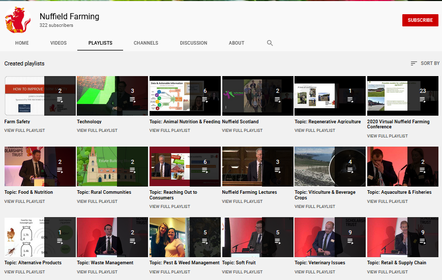 Nuffield Framing You Tube Channel